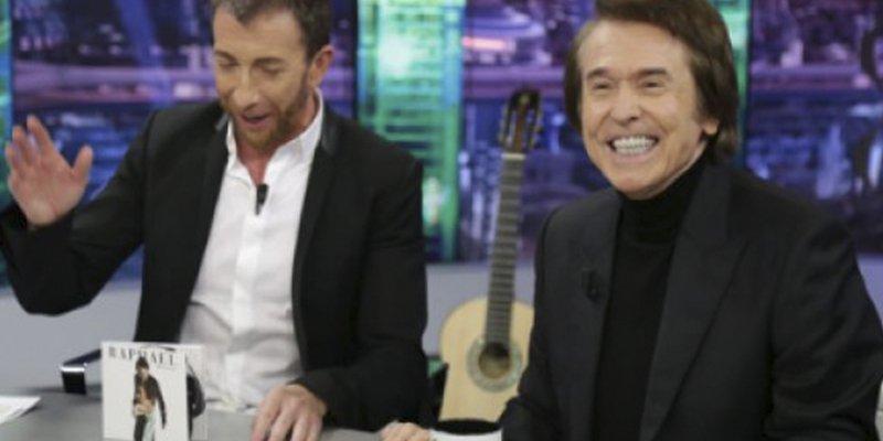 El corte de Raphael a Pablo Motos en 'El Hormiguero' del que todos hablan