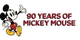 Regalos de Mickey Mouse 90 aniversario desde 10 €
