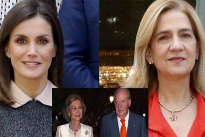 La Reina Letizia comparte mesa y mantel con la Infanta Cristina con la bendición de Juan Carlos y Sofía