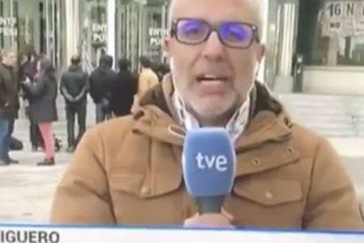 Apoyo unánime a este reportero del Telediario de TVE que pasó en directo el peor momento de su vida