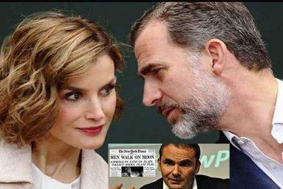 El venenoso artículo del ex director de 'El Mundo' en 'The New York Times' que no hará ni pizca de gracia a Felipe VI y Letizia