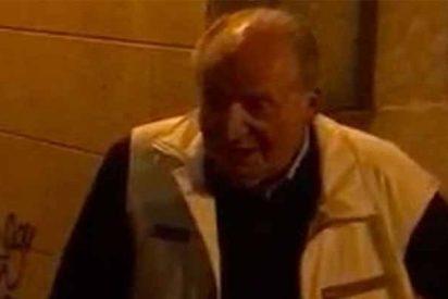 """Cachondeo con el rey Juan Carlos en una marisquería: """"Viva la República"""" y """"¿Qué tal el centollo?"""""""