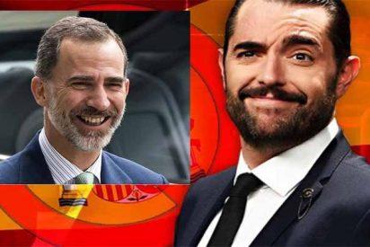 """El mocoso Dani Mateo vuelve por más y dice que el Rey es un 'blandengue': """"Dudo que se haga pajas"""""""