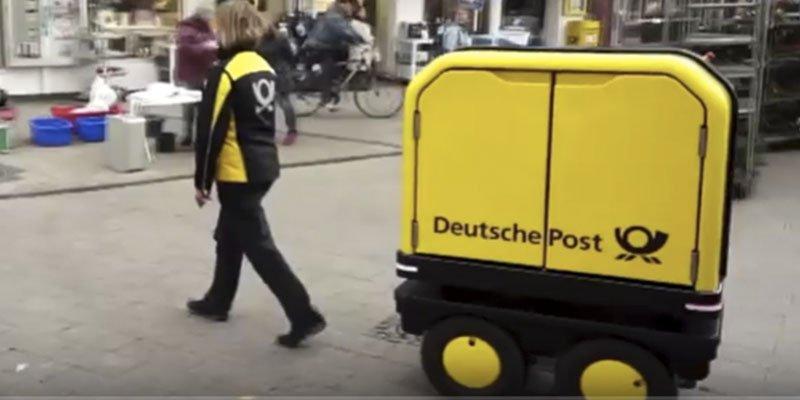 ¿Sabías que Alemania y Noruega utilizan robots para el servicio de correos nacional?