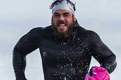 Ross Edgley se convierte en el primer hombre en rodear a nado todo el Reino Unido