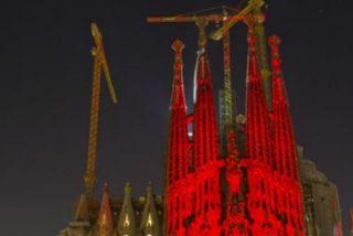 La Sagrada Familia se teñirá de rojo por los cristianos perseguidos en el mundo