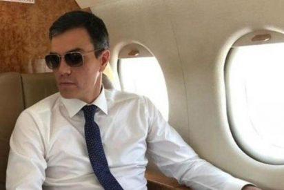 La extraña decisión que toma el ministerio de Defensa para el Falcon 900 del pájaro Sánchez