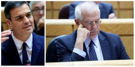 El 'privilegiado' Josep Borrell provoca que el 'dream team' del progresista Sánchez desborde roña