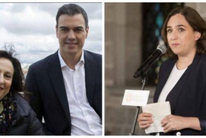 Sánchez y Robles se arrastran ante Ada Colau e impiden al Ejército acudir al Salón de la Enseñanza de Barcelona