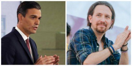 Sánchez e Iglesias sacan rédito de la crisis hipotecaria con decretos demagogos y manifestaciones populistas
