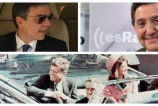 Losantos deja hecho unos zorros a 'Kennedy' Sánchez desmontando la burda mentira del magnicidio