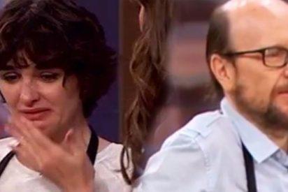 'MasterChef Celebrity': Santiago Segura hace llorar a Paz Vega