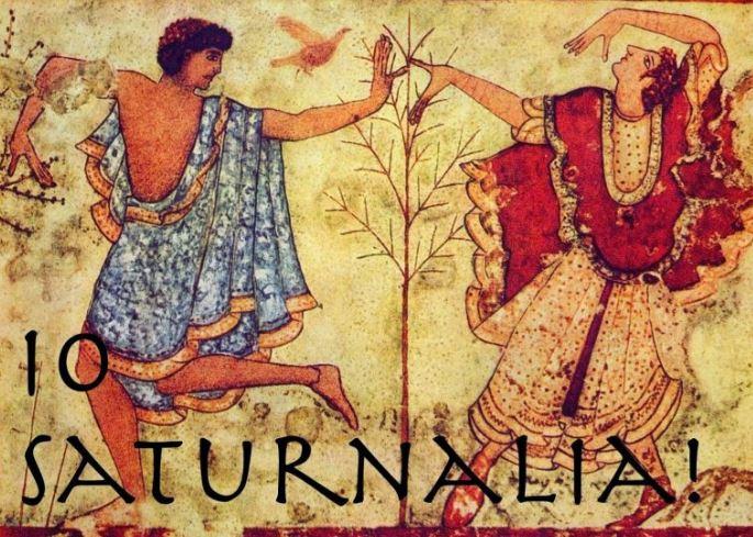 Fiestas romanas Saturnalia
