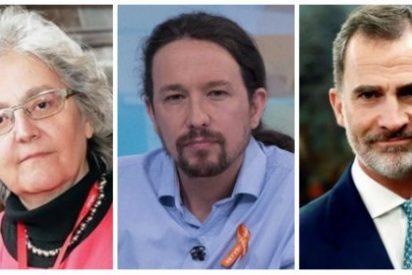 El País se esconde en un artículo de Pablo Iglesias para masacrar a Felipe VI y hacerle un guiño a los golpistas