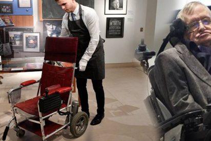Subastan por 340.000 euros esta silla de ruedas que usó Stephen Hawking