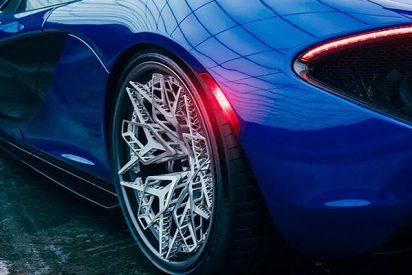 Así serán las llantas para los coches superdeportivos del futuro