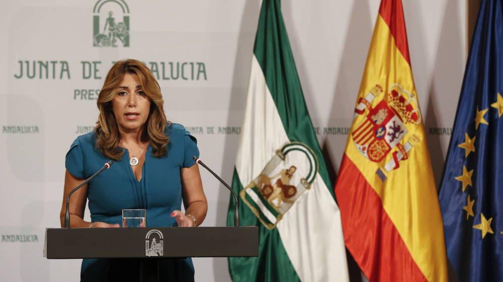 El Supremo reventará los pactos electorales de Susana Díaz imputándola por corrupción