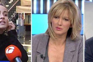 """'Movidón' televisivo en la universidad entre 'Espejo Público' y unas alumnas 'matonas': """"¡Expulsadlas por analfabetas!"""""""
