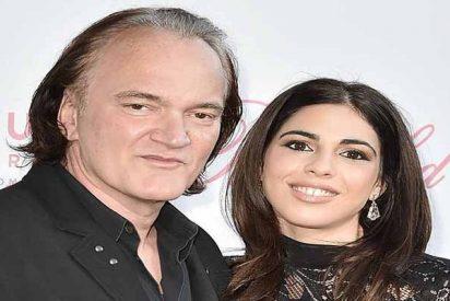 El feroz Quentin Tarantino se casa con una modelo 20 años más joven que él