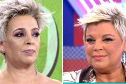 Carmen Borrego se convierte en su hermana Terelu y se filtran los comentarios de sus compañeros poniéndola a parir