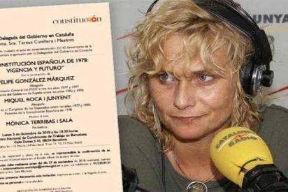 El Gobierno Sánchez elige a la separatista Terribas para moderar un debate sobre los 40 años de la Constitución