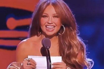 Así fueron los abucheos a Thalía y a un ausente Luis Miguel en los Grammy Latinos