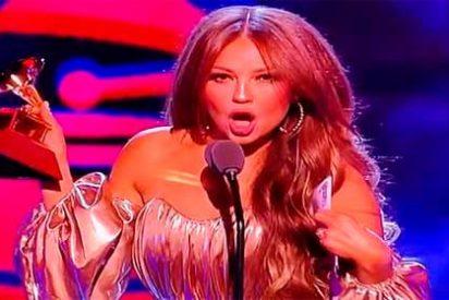 El mal momento que vivió Thalía en los Grammy Latinos gracias a Luis Miguel