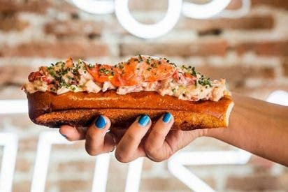 'The Lobstar' trae a Madrid el auténtico 'Lobster roll'