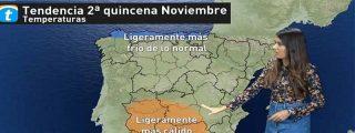 Lluvioso noviembre: dime dónde vives y te diré qué tiempo hará