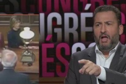 """TV3 hace bromas con la sexualidad de Borrell: """"O no le han escupido o no le molesta la saliva del diputado de ERC"""""""
