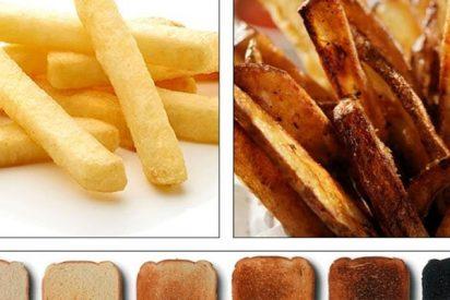 """¡OJO!: Sanidad alerta del cancerígeno del pan y las patatas: """"Elige dorado, elige salud"""""""