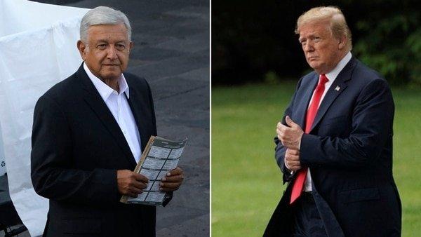 Trump encuentra una solución para frenar la caravana migrante: un acuerdo con López Obrador