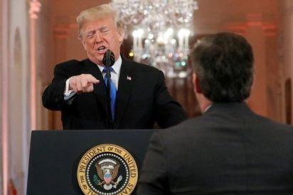 Trump retira la credencial de la Casa Blanca al periodista de CNN al que insultó