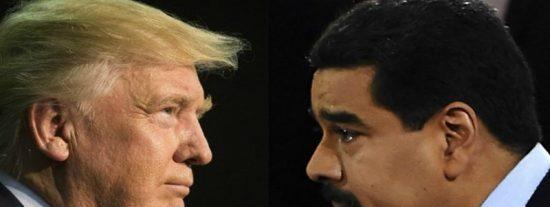 """Trump advierte a Maduro de que """"algo va a pasar con Venezuela"""" y asegura que EEUU estará """"muy involucrado"""""""