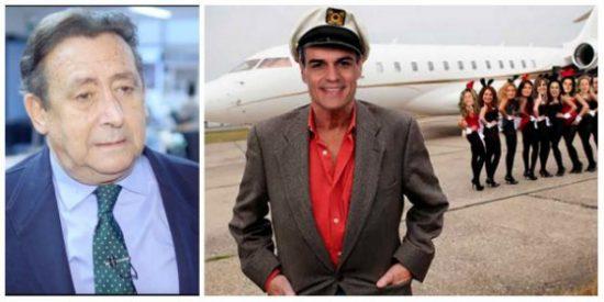 Ussía despalilla a Sánchez por su última horterada de altos vuelos a costa del dinero de todos los españoles