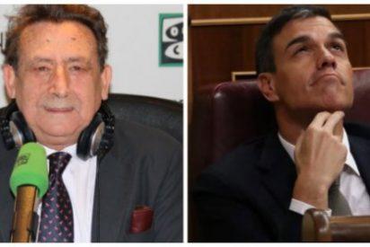 """Alfonso Ussía le borra la sonrisa al """"ególatra y hortera"""" Pedro Sánchez mandándole de un sopapo al psiquiátrico"""