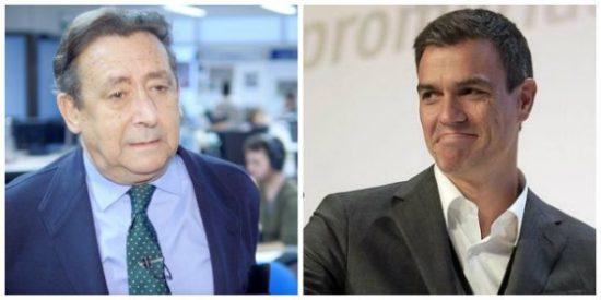 """Alfonso Ussía tumba en un soberbio tuit a Pedro Sánchez por negarse a recibir a Juan Guaidó: """"Es asqueroso"""""""