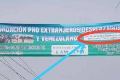 """""""No se aceptan homosexuales"""", la polémica norma de una fundación colombiana que ayuda a la diáspora venezolana"""
