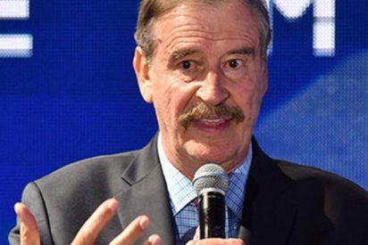 """El ex presidente de México, Vicente Fox: """"De todo corazón, ayudaré a pagar el muro"""""""