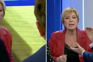 """Celia Villalobos se pone como loca en directo y Castillón la tiene que frenar: """"¡No me amenaces!"""""""