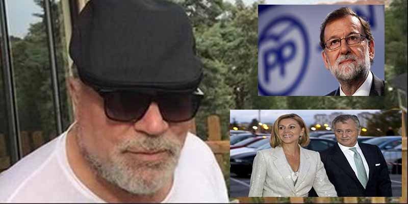 El marido de Cospedal le 'comía el tarro' a Villarejo con el cuento de que Rajoy estaba de acuerdo con sus chapuzas