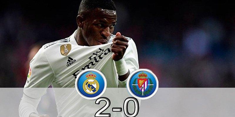 Vinicius salvó al Real Madrid y a Solari
