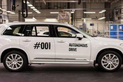 """Volvo y Baidu:""""El duo de la historia crean un vehículo no tripulado"""""""