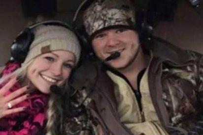 Mueren en un helicóptero rumbo a su luna de miel