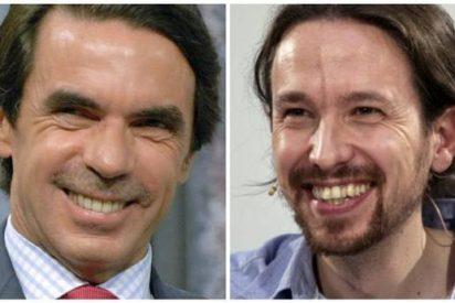 Las primarias de Podemos van a ser tal filfa que se han inventado una carta falsa de Aznar para dar de qué hablar