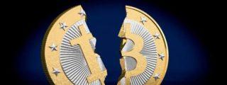 El Bitcoin se desploma un 6.5% en minutos tras chocar contra un muro de venta en los 28.400 dólares