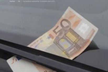 La policía advierte del timo de los 50 euros; te puedes quedar sin coche