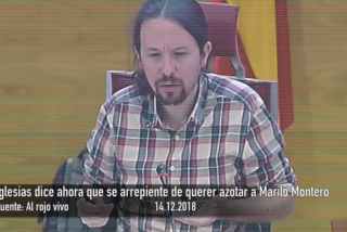 Iglesias dice ahora que se arrepiente de haber deseado azotar a Mariló Montero