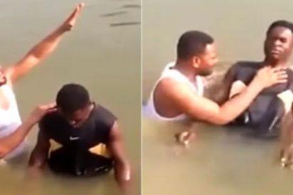 Un joven muere ahogado mientras es bautizado en el río