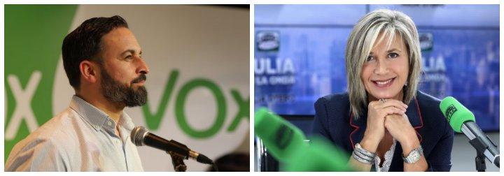 "Santiago Abascal masacra a Julia Otero por acusar a Vox de no sentir la muerte de Laura Luelmo: ""Eres una sectaria"""